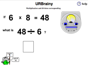 Multiplication and Division Corresponding