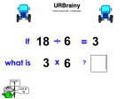 Check Division with Multiplication