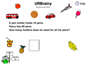 Preview of game Word Problems with Remainders: Rounding Up