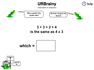 Relate Addition To Multiplication