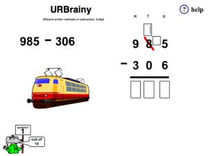 Efficient Written Method for Subtracting 3-digit Numbers