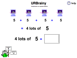 Multiplication as Repeated Addition