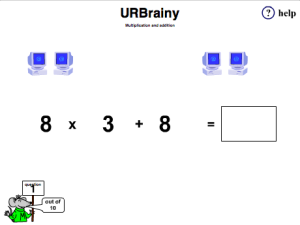Preview of game Multiplication and Addition