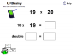 Multiply by 20 by Multiplying by 10 and Doubling