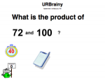Multiply by 100