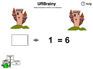 Relate Division to Multiplication