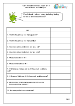 math worksheet : year 6 mental arithmetic : Year 6 Mental Maths Worksheets
