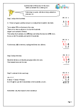 Subtracting with zeros