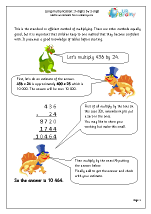 Long Multiplication: 3-digit by 2-digit
