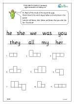 Tricky Word Activities (3)