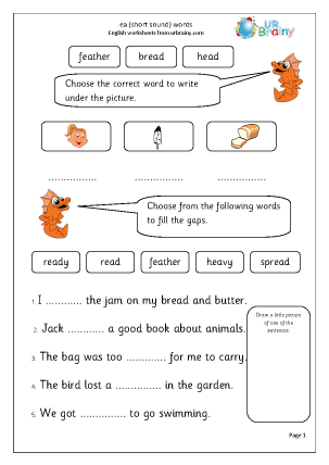 Ea Worksheets Ks1 - The Best and Most Comprehensive Worksheets