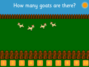 Counting Goats (up to 10)