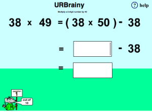 Multiply a 2-digit Number by Forty Nine