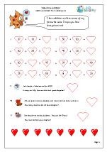 Valentine's Day: addition (year 3)