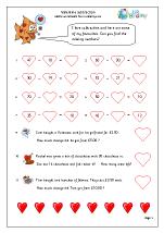 Valentine's Day: subtraction (year 3)