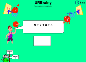 Preview of game Relate Addition and Multiplication