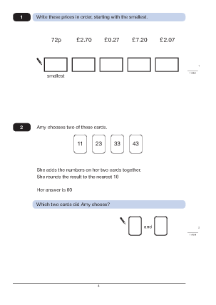 Questions 1 and 2
