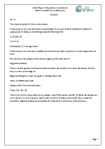 12 Answers and Suggested Method