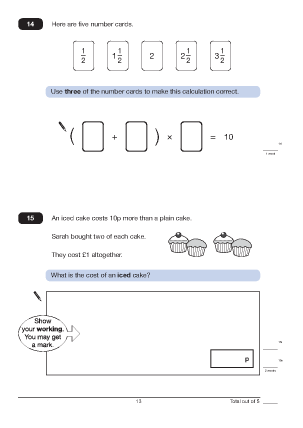 math worksheet : questions 14 and 15 paper a 2010 analysed maths worksheets for ks2  : Ks2 Math Worksheets