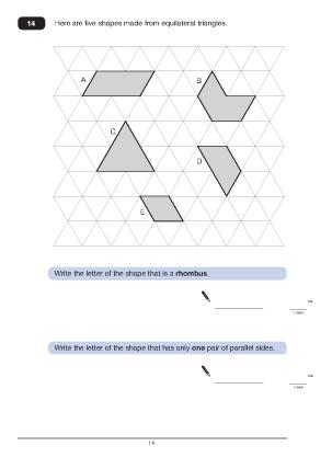 Question 14 Paper B 2011
