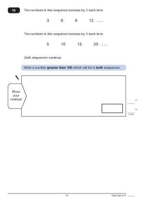 Question 15 Paper B 2011