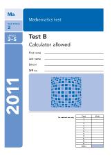 KS2 SATs Paper B 2011