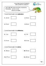 Converting measurements of length
