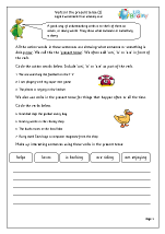 Verbs in the present tense (2)