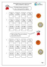 money maths worksheets for year 3 age 7 8. Black Bedroom Furniture Sets. Home Design Ideas
