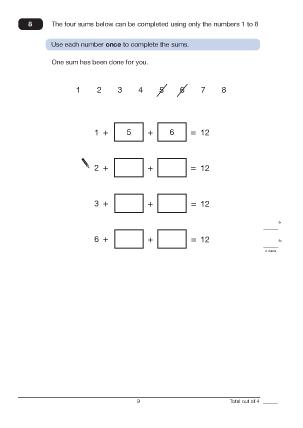 Question 8  Paper A  2011