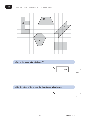 ... 2011 Paper A 2011 analysed Maths Worksheets For KS2 Maths SAT Papers