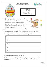 Easter: £6 egg