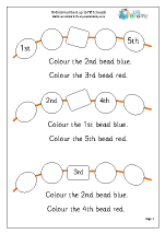 Order From 1st to 5th Beads