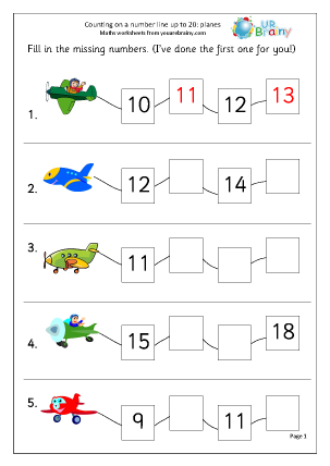 Ordering Numbers Worksheets Year 1 Worksheets for all | Download ...