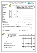 double consonants english worksheets for middle upper primary spelling. Black Bedroom Furniture Sets. Home Design Ideas