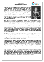 Queens of England: Mary Tudor (1)