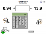 Calculator Decimal Addition Questions