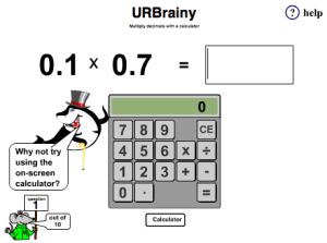 Multiply Decimals with a Calculator