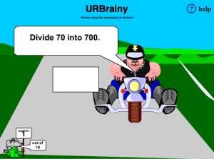 Preview of game Revise Using the Vocabulary of Division