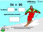 Estimate 2-digit multiplication