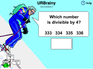Tests of divisibility 1