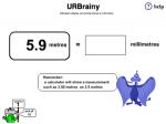 Convert metres to millimetres