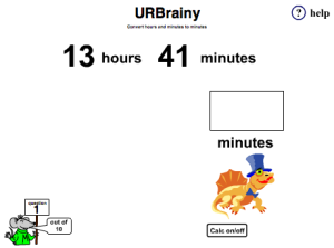 Convert hours and minutes to minutes