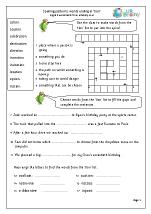 Worksheets Words Ending In Tion Worksheet tion endings english worksheet for key stage 1