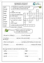 Worksheets Soft G Words Worksheets soft g words english worksheet for key stage 1