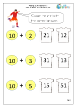 Adding 10 to a number: shirts