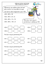 Halloween witches: partitioning