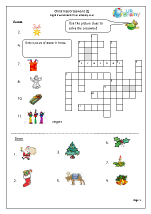 Christmas Crossword 1