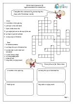 Christmas Crossword 2