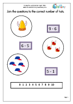 Using the subtraction sign (1)